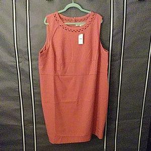 Loft sheath sleeveless dress 24x